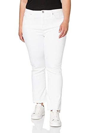True Religion Dames hal Kick Flare TRUEFLEX White Denim Jeans, , 25