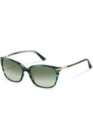 Rodenstock Zonnebril La Classica Sun R3320 (Dames), lichtgewicht zonnebril, zonnebril in vlindermodel gemaakt van hoogwaardig acetaat