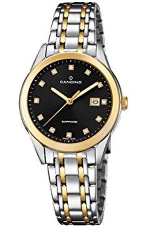 Candino Womens Analoog Klassiek Quartz Horloge met RVS Band C4695/3