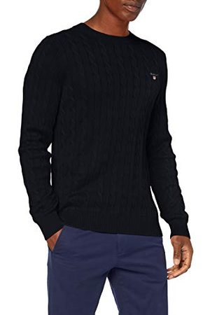 GANT Heren Cotton Cable C-Neck Pullover