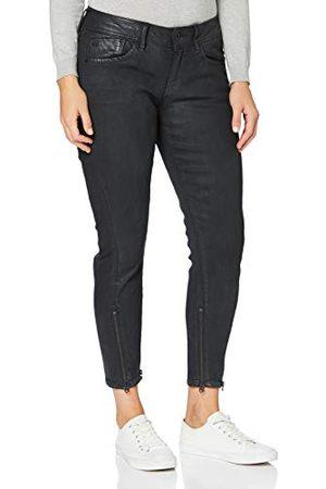 G-Star Lynn Skinny Jeans voor dames, 2-zip, halfhoge taille, skinny enkel