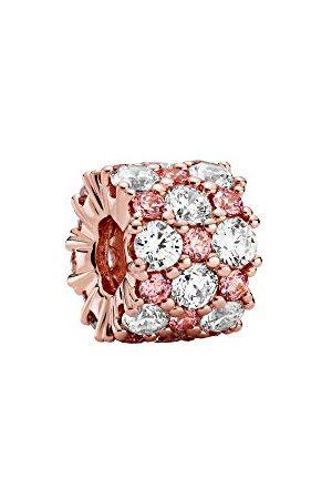 PANDORA En helder fonkelende charm, 788487C01, Rosé, 1,13 cm