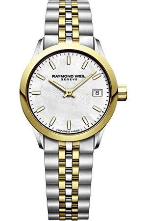 Raymond Weil Womens Analoog Quartz Horloge met RVS Band 5626-STP-97021