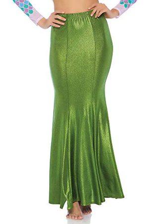 Leg Avenue Vrouwen Shimmer Spandex Zeemeermin Rok Kostuum Accessoires