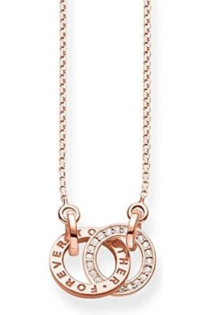 Thomas Sabo Damesketting Together Forever Klein Glam & Soul 925 sterling zilver roségoud lengte van 40 tot 45 cm KE1488-416-40-L45v