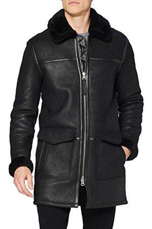 Schott NYC LCCOLORADO Leather Jacket, Black, X-Large Heren