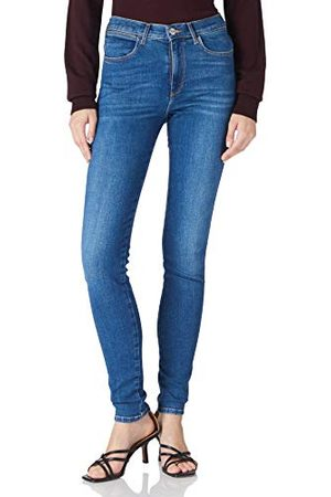 Wrangler Skinny jeans voor dames met hoge taille