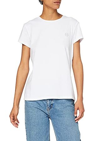Armani Dames Short Sleeve Scoop Neck T-shirt