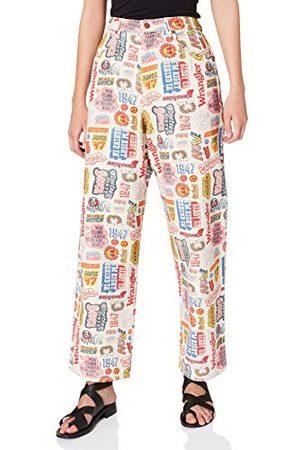 Wrangler Brede Barrel Jeans voor dames