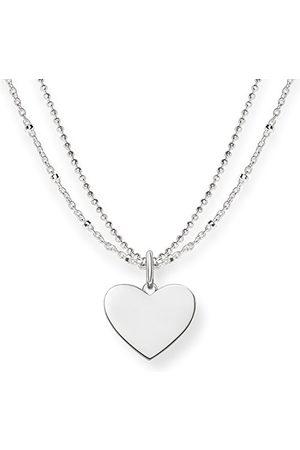 Thomas Sabo Damesketting Love Bridge hart 925 sterling lengte 40 tot 45 cm LBKE004-001-12-L45v