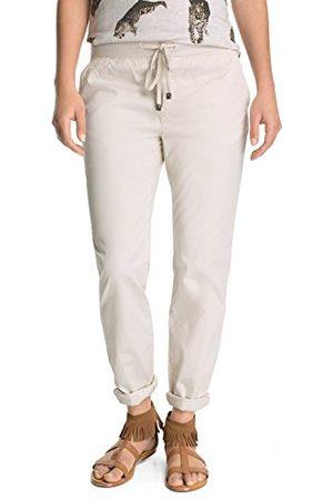 Esprit Dames chino broek met elastische tailleband