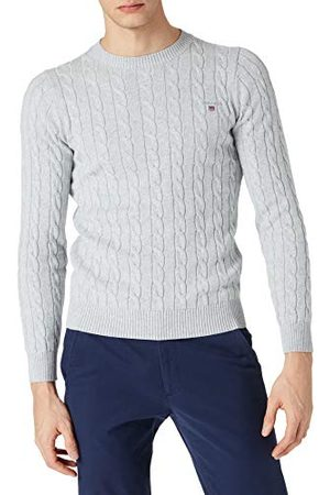 GANT Heren Cotton Cable Crew Pullover