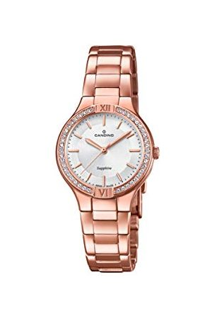 Candino Womens Analoog Klassiek Quartz Horloge met RVS Band C4630/1