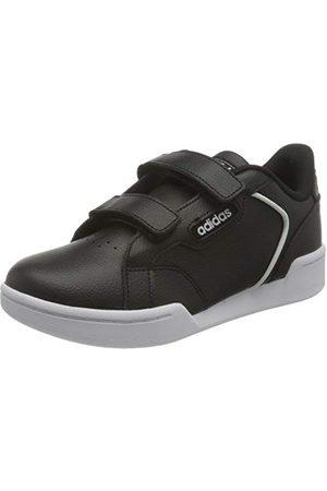 adidas Uniseks kinderen ROGUERA C Running Shoe, CBLACK/FTWWHT, 35 EU