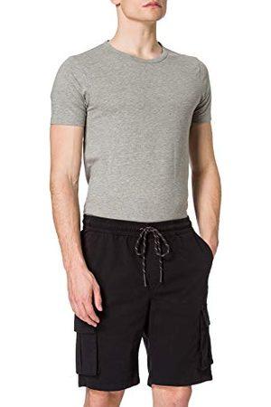 Urban classics Heren Shorts Cargo Drawstring Pants met opgestikte zakken, korte broek voor mannen, in 2 kleuren, maten S - 5XL