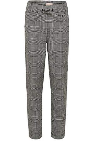 ONLY Konpoptrash Soft Check Pant Noos broek voor meisjes