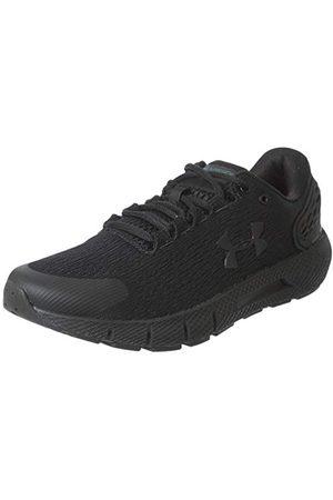 Under Armour Men's Charged Rogue 2 Running Shoe, Black Black Versa Red Black, 9 UK