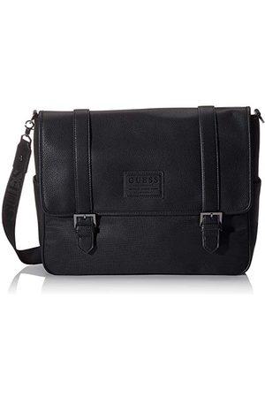 Guess Heren New Phil Messenger Business Bag Black (Black), 10x31x40 centimeter