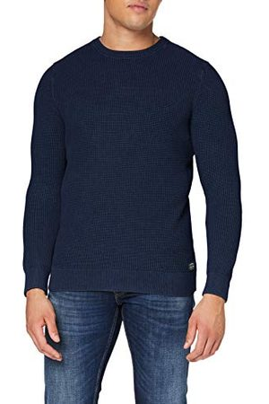 Superdry Heren Academy Dyed Texture Crew Pullover Sweater