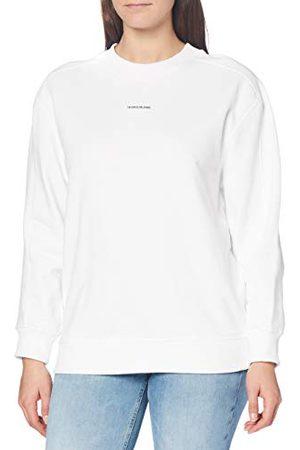 Calvin Klein Dames Unisex Micro Branding Cn Sweater