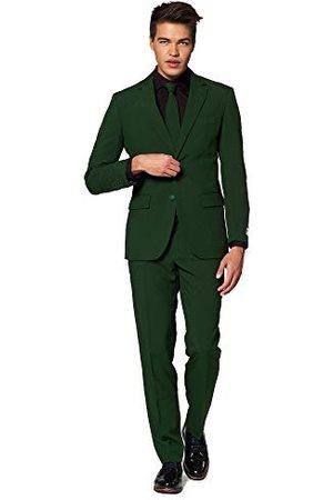 OppoSuits Effen kleur Prom Bachelor Party Suits voor Heren - Volledig pak: Inclusief jas, broek en stropdas