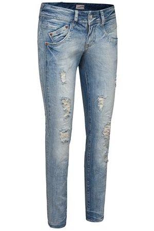 Herrlicher Dames Straight Been Jeans Gila Denim Stretch