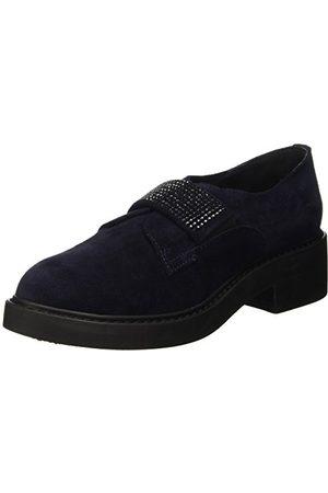 manas St.Jeans halfhoge veterschoenen, dames