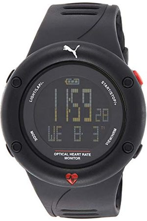 PUMA Digitaal kwartshorloge voor heren met plastic armband PU911291001