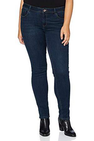 Morgan Jeans slim standaardmaat met zakken, casual damesbroek.