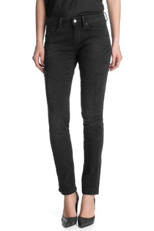 Esprit Dames jeans 113EJ1B035 Skinny Slim Fit (rouw) normale band