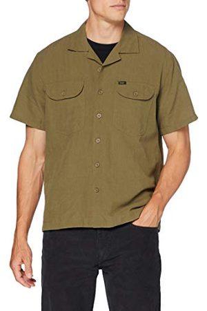 Lee Heren Ss Worker Shirt Vrijetijdshemd