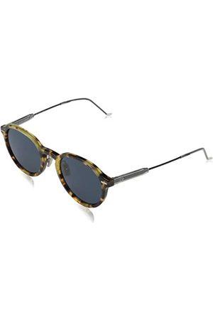 Dior Heren MOTION2 KU EPZ zonnebril, (Yell Redhavn/Blue Avio), 50