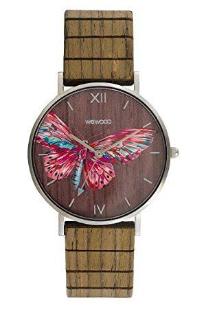 WeWood Dames analoog Japans kwarts horloge met houten armband WW48002