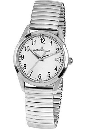 Jacques Lemans Dames analoog kwarts horloge met roestvrij stalen armband 1-1763E