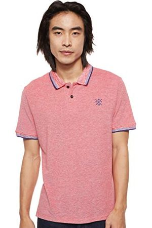 TOM TAILOR Tipping Poloshirt voor heren, 21334 - Red Two Tone Pique, S