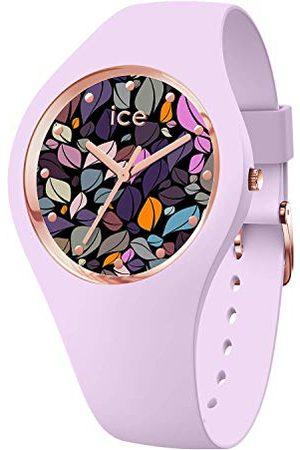 Ice-Watch ICE flower Lilac petals - dameshorloge met siliconen armband - 017580 (Maat M)