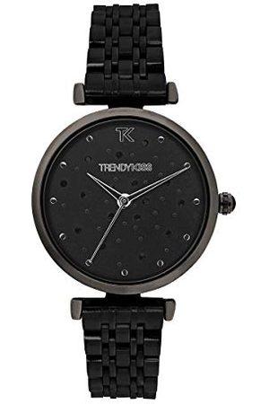 Trendy Kiss Dameshorloge, analoog, kwarts, met stalen armband, TM10137-02