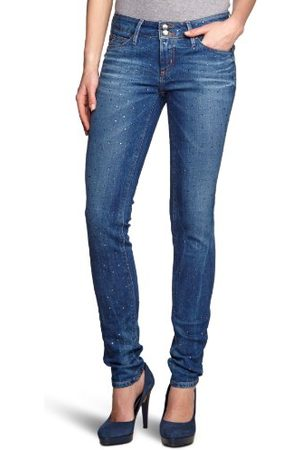 Tommy Hilfiger Dames Jeans MILAN SKINNY VEGAS / 1M87625897 Skinny/Slim Fit (buis) Normale tailleband