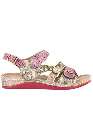 LAURA VITA 0002476, open sandalen met sleehak Dames 40 EU