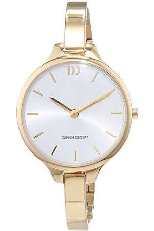 Danish Design Dames analoog kwarts horloge met roestvrij stalen armband IV05Q1192