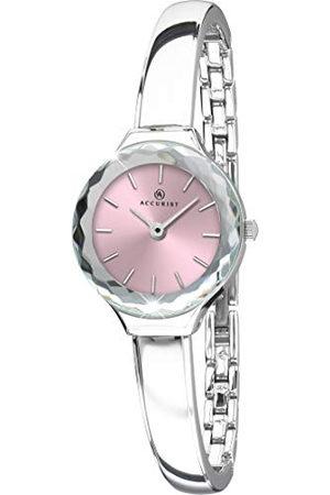 Accurist Nauwkeurige horloges Vrouwen Analoog Japanse Quartz Horloge met Messing Band 8253