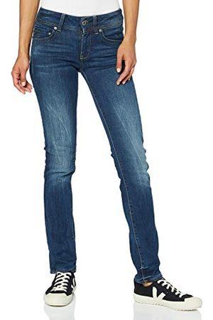 G-Star Midge Saddle Mid Waist Straight Jeans Dames - 27/34