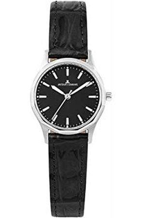 Jacques Lemans Dames analoog kwarts horloge met lederen armband 1-2011A