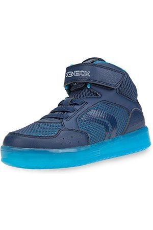Geox J825PC014BU, Hi-Top Trainers Jongens 36 EU
