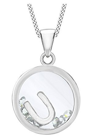 Tuscany Silver 925 Sterling Silver Round Zirkonia