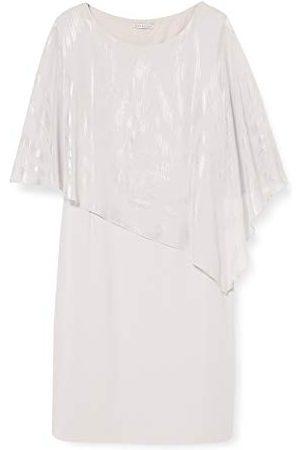 Gina Bacconi Vrouwen Twinkle Chiffon kaap en crêpe jurk