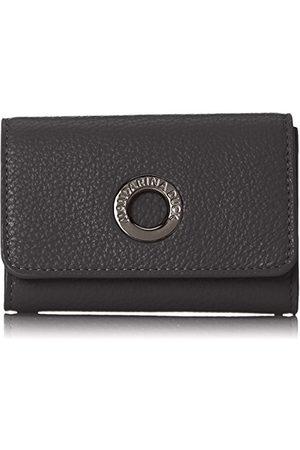 Mandarina Duck Mellow Leather Portafoglio, damesportemonnee, (nero)