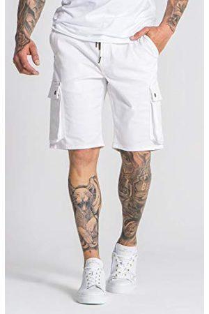 Gianni Kavanagh White Core Cargo shorts voor heren