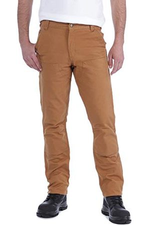 Carhartt Heren Straight Fit Stretch Duck Double Front Work Utility Pants