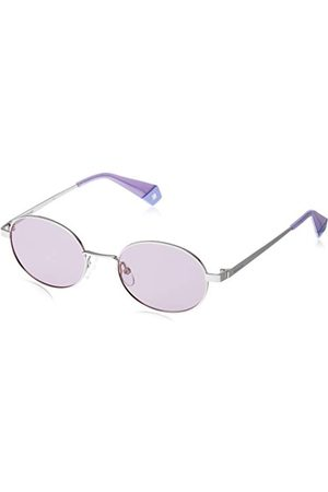 Polaroid Unisex volwassene PLD 6066/S zonnebril, meerkleurig (Lil Silv), 51